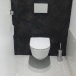 Granit Effekt WC Raum