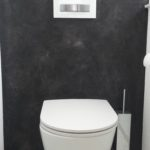 Granit Boden WC Raum