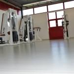 Fitness Zentrum Bodenbeschichtung